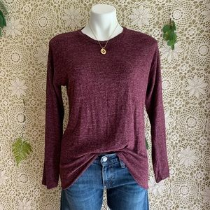 American Eagle Soft and Sexy Lace Back Sweater